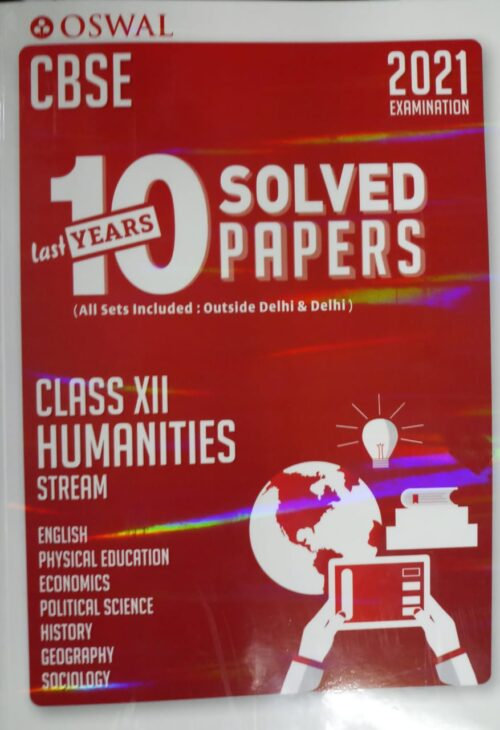 10 Year Solved Class XII Humanities Stream
