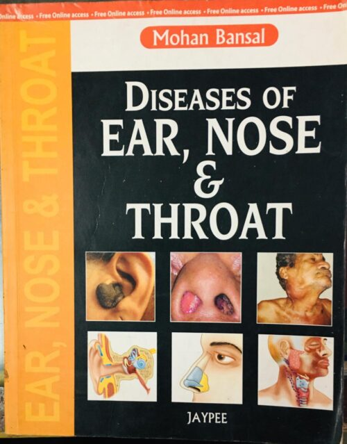 Diseases Of Ear Nose And Throat By Mohan Bansal