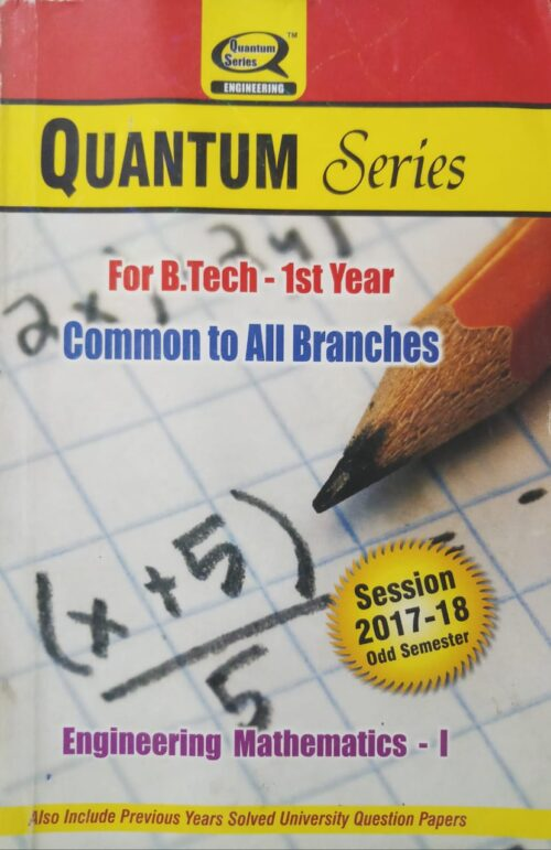 Quantum Engineering Maths 1 Common To All