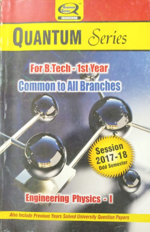 Quantum Engineering Physics 1 Common To All