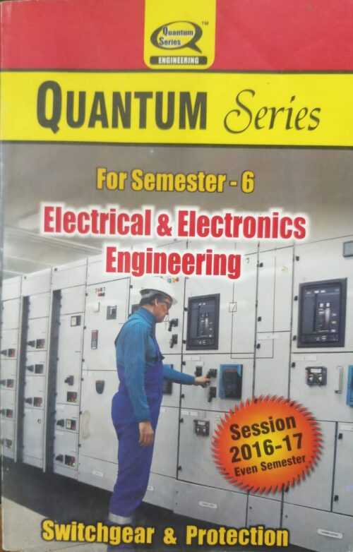 Quantum Series Switch Gear And Protection 6th Sem