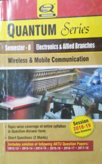 Quantum Wireless And Mobile Communication 8th Sem