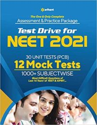 Arihant TEST DRIVE FOR NEET 2021