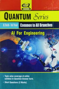 Artificial Intelligence for Engineering B Tech 1st Year