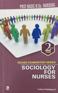 Sociology for Nurses PB Bsc Nursing Solved Paper