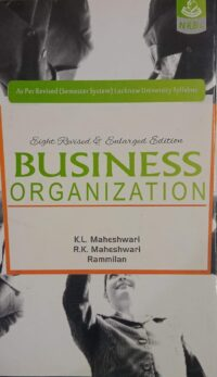 Business Organization By K L Maheshwari NRBC