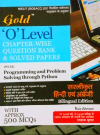 Gold O Level Programming And Problem Solving Through Python Solved Bilingual Edition