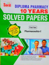 Pharmaceutics Saral Solved Paper D Pharma 1st Year