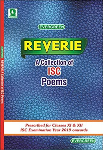 ISC Reverie For Class 11th And 12th