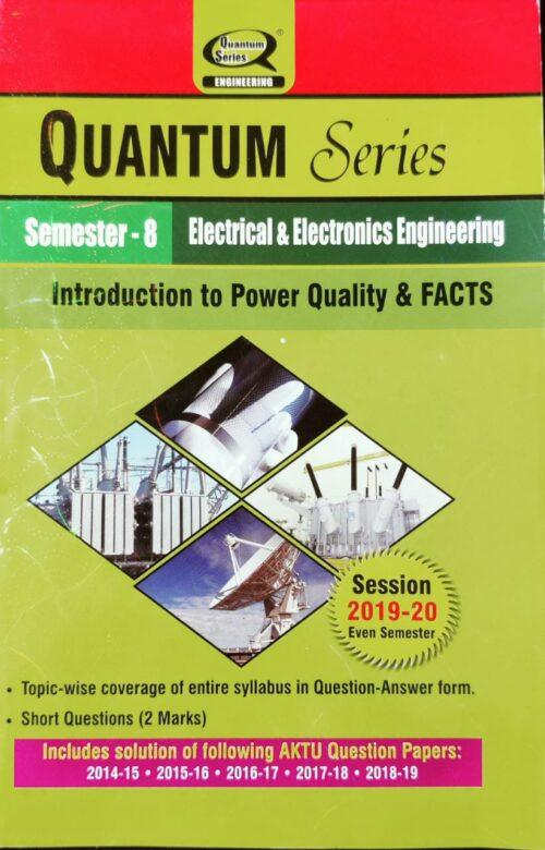 Quantum Series Introduction to Power Quality and Facts 8th Sem EEE