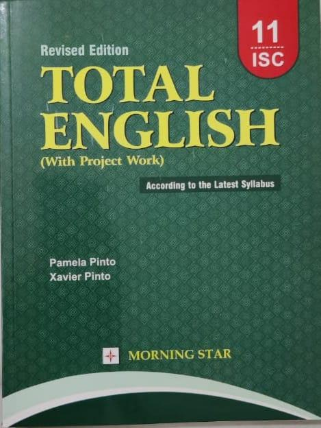 Total English For ISC Class 11 By Pamela Pinto