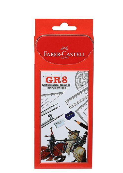 Faber Castle Gr 8 Mathematical Drawing Instrument Box