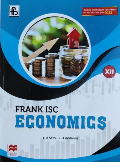 Frank ISC Economics For Class 12th by DK Sethi