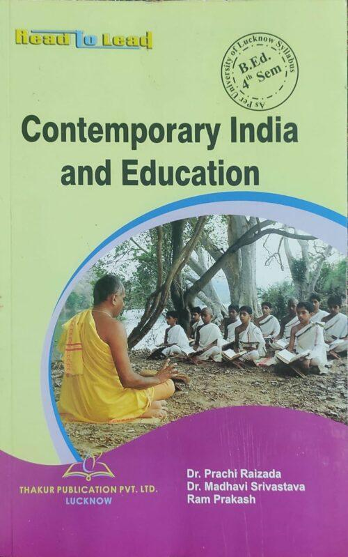 TP Contemporary India And Education 4th Sem