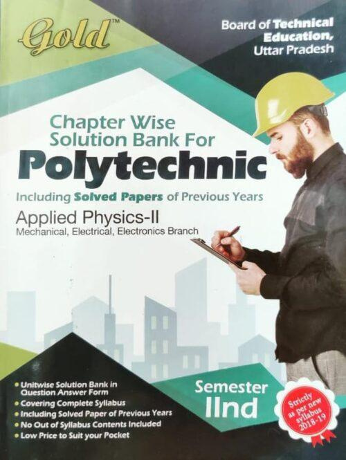 Gold Question Bank Polytechnic Applied Physics 2nd Sem2nd