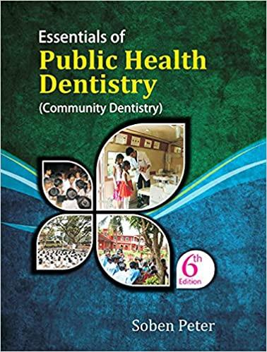 Second Hand Essentials of Public Health Dentistry By Soben Peter