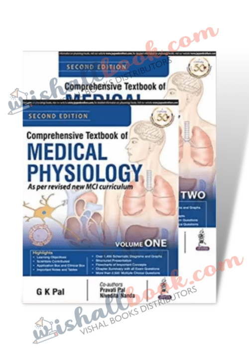 Second Hand Comprehensive Textbook of Medical Physiology By GK Pal
