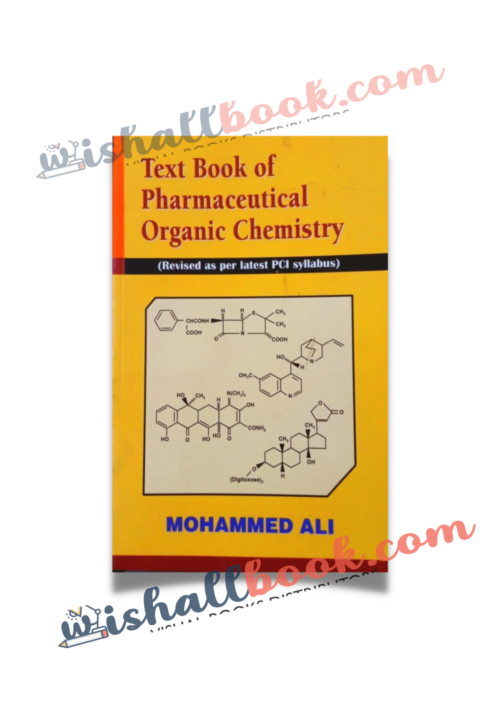 Textbook of Pharmaceutical Organic Chemistry By Mohammad Ali