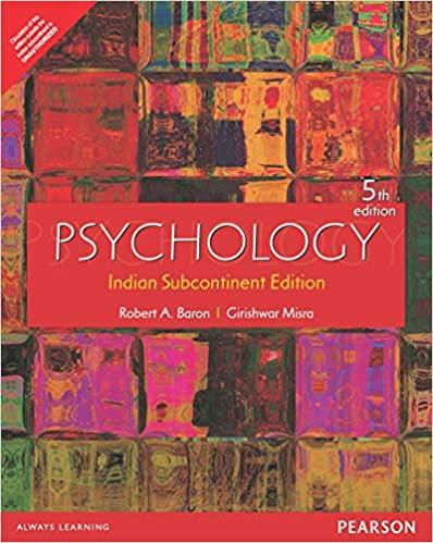 Psychology 5th Edition By Robert A Baron