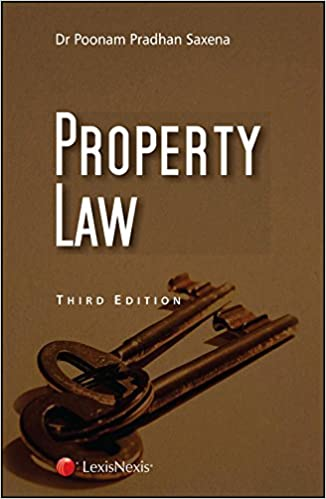 Property Law By Dr Poonam Pradhan Saxena 3rd Edition