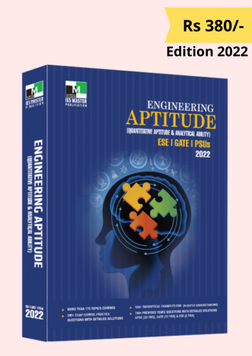 IES Master Engineering Aptitude for GATE ESE PSUs Edition 2022 Book