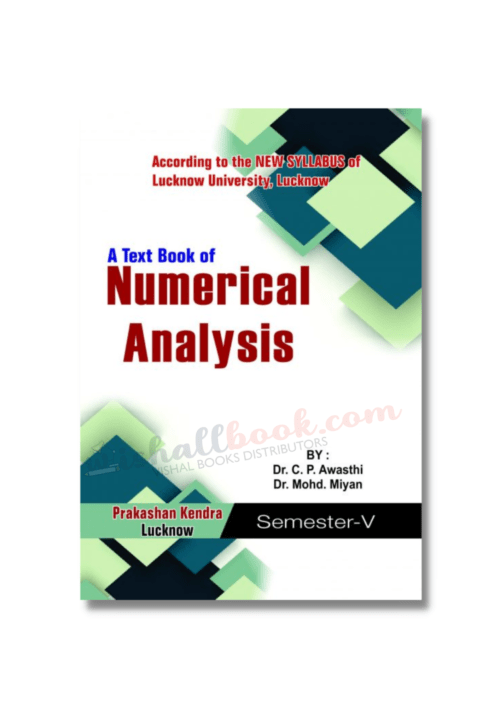 A Textbook of Numerical Analysis 5th Sem by Dr C P Awasthi