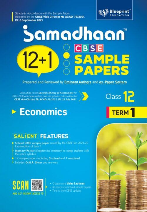 Samadhaan CBSE Economics Sample Papers For Class 12th Term 1 2021 to 2022