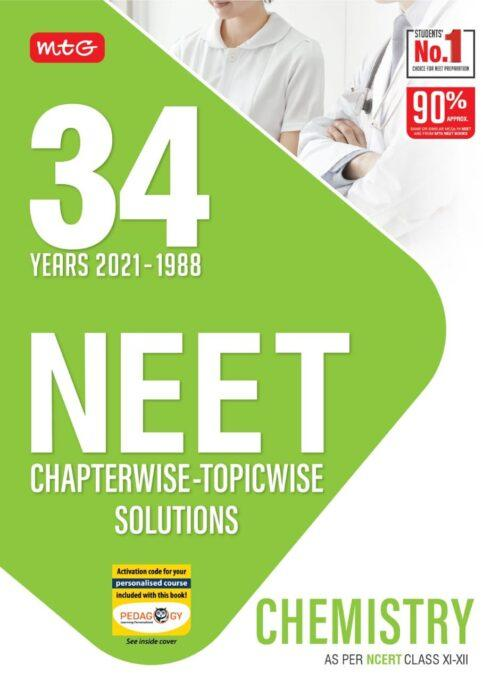NEET Chemistry 34 Years Solved Question Papers