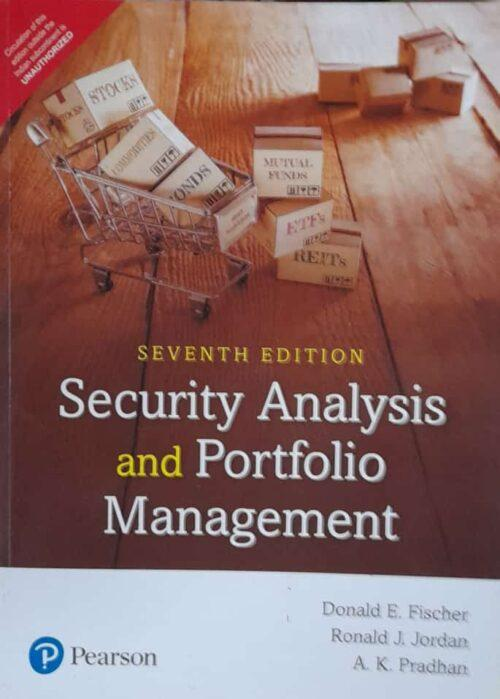 Security Analysis And Portfolio Management 7th Edition By Donald E Fischer