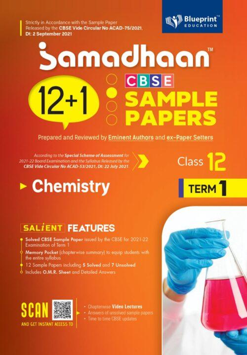 Samadhaan CBSE Chemistry Sample Papers For Class 12th Term 1 2021 to 2022