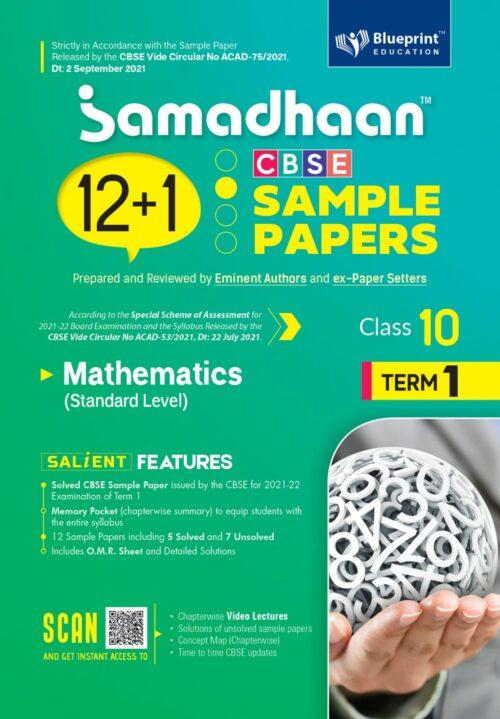 Samadhaan CBSE Mathematics Sample Papers For Class 10th Term 1 2021 to 2022