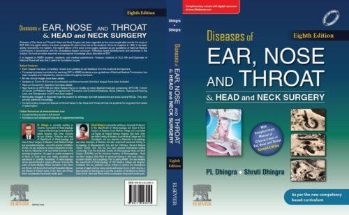 ENT Dhingra 8th Edition Book by Elsevier 2021